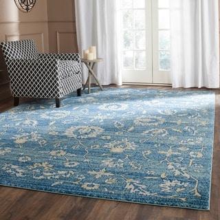 Safavieh Evoke Light Blue/ Gold Rug (9' x 12')