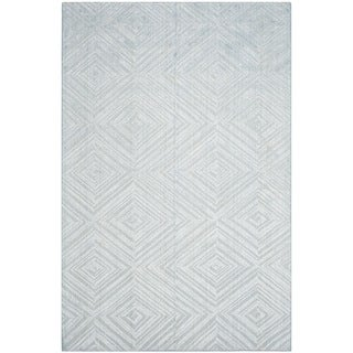 Safavieh Handmade Mirage Blue Viscose Rug (9' x 12')