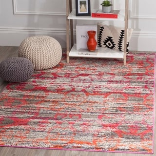 Safavieh Monaco Grey/ Multi Rug (9' x 12')