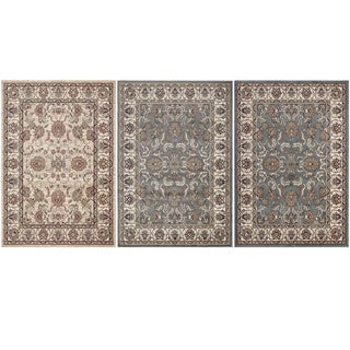 Machine Made Regal Persian All-over Pattern Area Rug (5'3 x 7'7)
