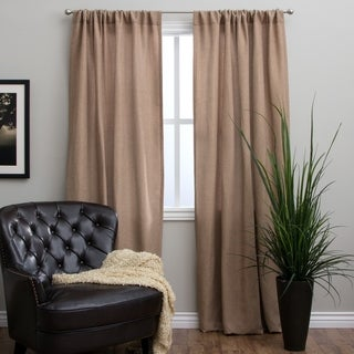 Basket Weave 96-inch Curtain Panel