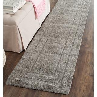 Safavieh Shag Grey/ Grey Rug (2'3 x 10')