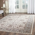 Safavieh Persian Garden Ivory/ Light Blue Viscose Rug (5'1 x 7'7)