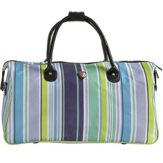CalPak Hampton Blue Stripe 20-inch Duffel Bag