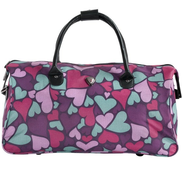 CalPak Hampton Purple Hearts 20-inch Duffel Bag