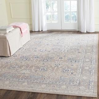 Safavieh Patina Taupe/ Taupe Cotton Rug (5'1 x 7'6)