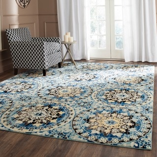 Safavieh Evoke Blue/ Gold Rug (8' x 10')