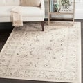Safavieh Vintage Light Grey/ Ivory Rug (5'1 x 7'7)