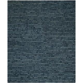 Safavieh Hand-Knotted Bohemian Dark Blue/ Multi Jute Rug (10' x 14')