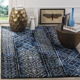 Safavieh Adirondack Silver/ Black Rug (6' x 9')