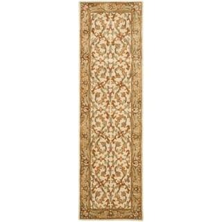 Safavieh Hand-Tufted Heritage Beige/ Gold Wool Rug (2'3 x 20')