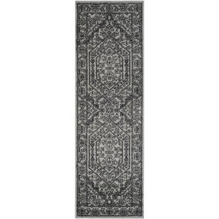 Safavieh Adirondack Silver/ Black Rug (2'6 x 22')