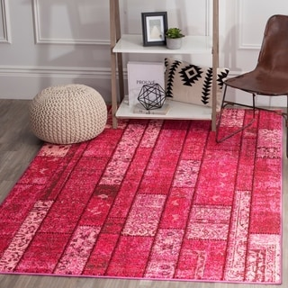 Safavieh Monaco Pink/ Multi Rug (8' x 11')