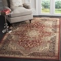 Safavieh Vintage Rust/ Black Rug (6'7 Square)