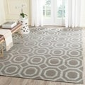 Safavieh Handmade Cedar Brook Grey/ Gold Jute Rug (7'3 x 9'3)