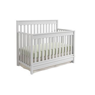 Sealy Bella 4-in-1 Grey Convertible Crib