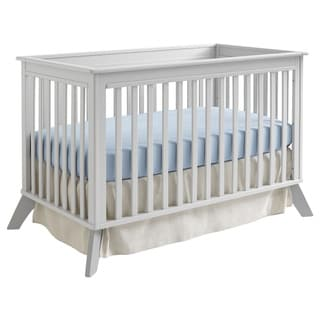 Sealy Bella 3-in-1 Mid-century Grey Convertible Crib