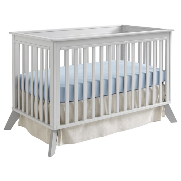 Sealy Bella Tranquility/ Deco Grey Standard Crib