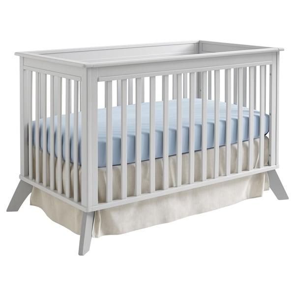 Sealy Bella Tranquility/ Deco Grey Standard Crib