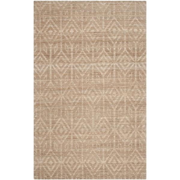 Safavieh Hand-Woven Cape Cod Camel Jute Rug (4' x 6')
