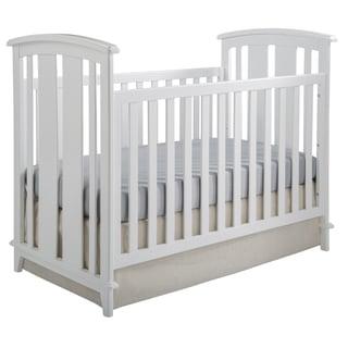 Elan White Convertible Crib