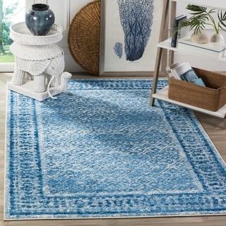 Safavieh Adirondack Silver/ Blue Rug (4' x 6')