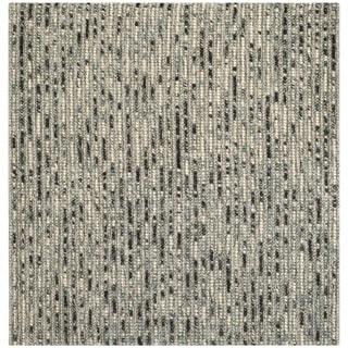 Safavieh Hand-Knotted Bohemian Grey/ Multi Jute Rug (10' Square)