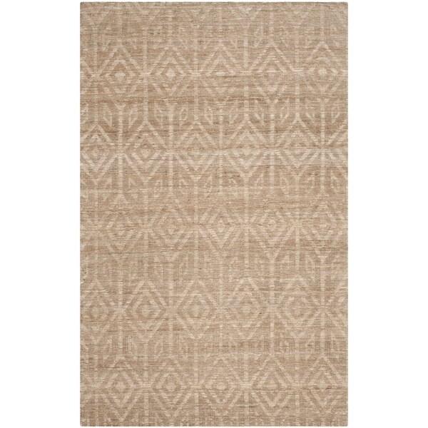 Safavieh Hand-Woven Cape Cod Camel Jute Rug (8' x 10')