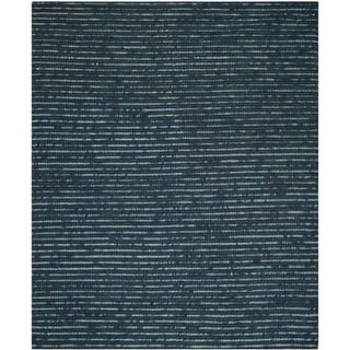 Safavieh Hand-Knotted Bohemian Dark Blue/ Multi Jute Rug (11' x 15')