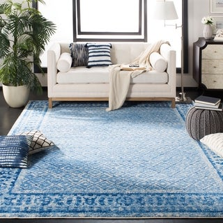 Safavieh Adirondack Silver/ Blue Rug (5'1 x 7'6)