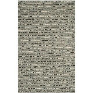 Safavieh Hand-Knotted Bohemian Grey/ Multi Jute Rug (11' x 15')