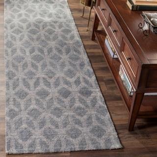 Safavieh Hand-Woven Cape Cod Grey/ Gold Jute Rug (8' x 10')