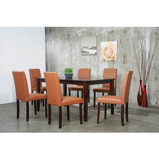 Warehouse of Tiffany Tafline 7-piece Toffee Dining Set