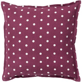 Decorative Gilmour 18-inch Poly or Down Filled Throw Pillow