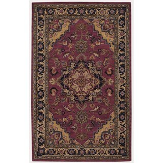Rug Squared Worcester Rust Rug (5' x 8')