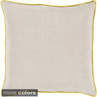 Decorative Kirwan 18-inch Poly or Down Filled Throw Pillow