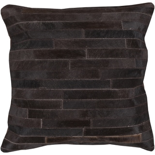 Decorative Gaines 18-inch Poly or Down Filled Throw Pillow