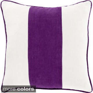 Decorative Langton 18-inch Poly or Down Filled Throw Pillow