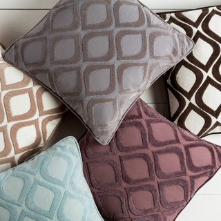 Decorative Lomond 18-inch Poly or Down Filled Throw Pillow