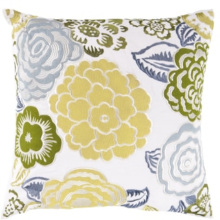 Decorative Inverness 18-inch Poly or Down Filled Throw Pillow