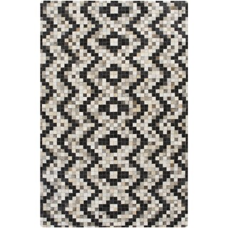 Hand-Crafted Juan Chevron Hair On Hide Rug (8' x 10')