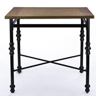 Broxburn Wood and Metal Pub Table