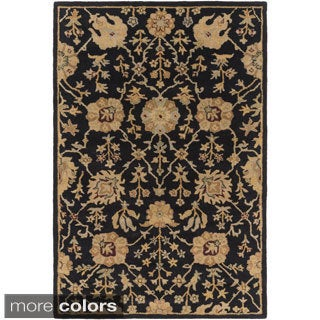 Hand-Tufted Amble Floral Wool Rug (3' x 5')
