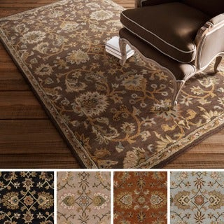Hand-tufted Artistic Weavers Yate Floral Wool Rug (8' x 11')