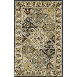 Hand-tufted Mason Multi Wool Rug (3'6 x 5'6)