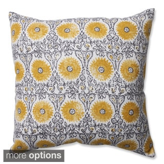 Pillow Perfect Riya Yellow Throw Pillow