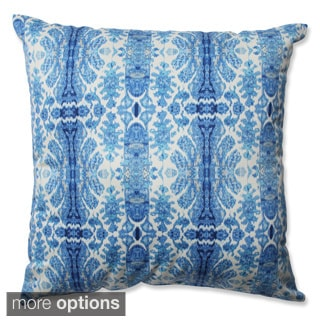 Pillow Perfect Rue Sapphire Throw Pillow