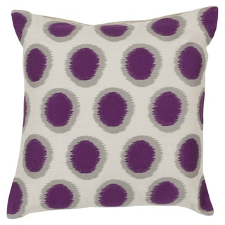 Decorative Balin 18-inch Poly or Down Filled Throw Pillow