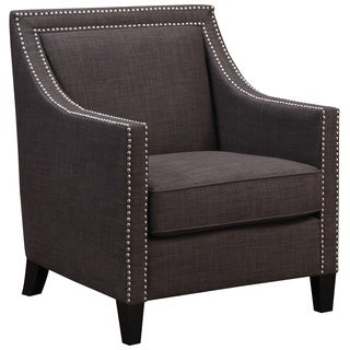 Art Van Lea Charcoal Grey Accent Chair