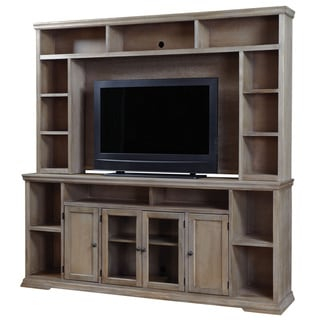 Art Van Oak Canyon 84-inch Console with Hutch